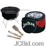 JCBid.com JIM-BEAM-JB0105-5-PIECE-COOLER-GRILL-SET