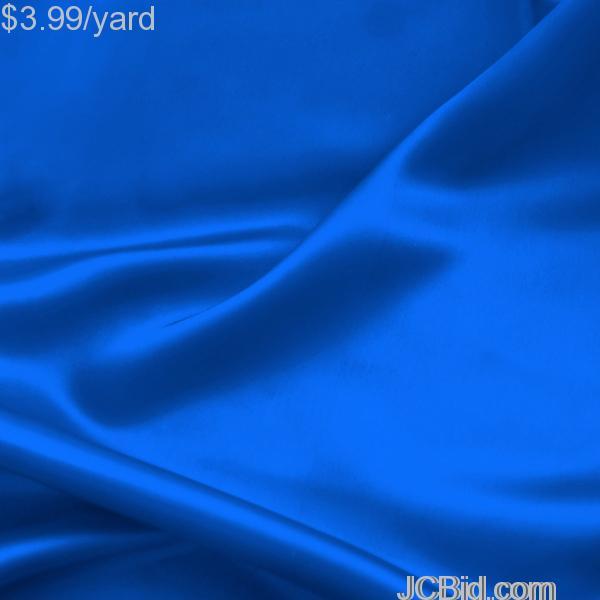 JCBid.com 3-Yards-of-Satin-Fabric-Royal-60-W-Just-379-Yard
