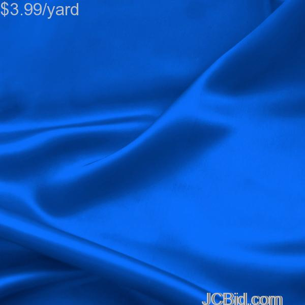 JCBid.com 3-Yards-of-Satin-Fabric-Royal-60-W-Just-379-Yard