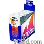 JCBid.com online auction Flints-card-of-6-zippo-model-2406n576