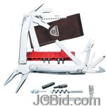 JCBid.com Spirit-Plus-Stainless-Steel-105mm-Leather-Sheath-VICTORINOX-Model-53802