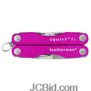 JCBid.com Squirt-P4-Pink-LEATHERMAN-Model-80070001K