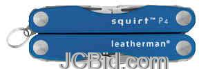 JCBid.com Squirt-P4-Glacier-Blue-LEATHERMAN-Model-80040001