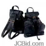 JCBid.com online auction Leather-backpackpurse-maxam-italian-mosaic-design-genuine-lambskin-leather-backpackpurse