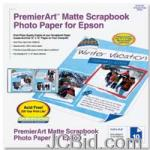JCBid.com online auction 12quot-x-12quot-premierart-matte-scrapbook-photo-paper-scr1003-epson