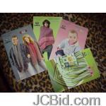 JCBid.com online auction 4-booklets-simply-soft-knit-crochet-designs-3-designs-each