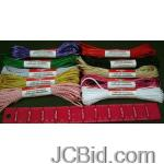 JCBid.com online auction 120-hanks-needloft-10-yards-craft-cord-assorted-colors