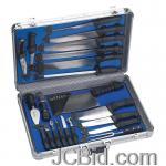 JCBid.com online auction 21pc-cutlery-set