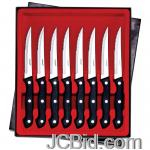 JCBid.com online auction Maxam-8pc-steak-knife-set
