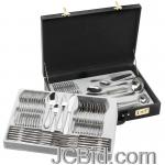 JCBid.com online auction 72pc-stainless-steel-flatware
