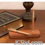 JCBid.com online auction Bamboo-pen-pencil-set