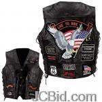 JCBid.com online auction Leather-vest-w-14-patches-5x
