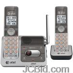 JCBid.com online auction Att-attcl82201-dect-60-cordless-phone-with-caller-id-two-handset