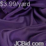 JCBid.com 18-Yards-of-Satin-Fabric-60quot-W-Purple-Just-299-Yard