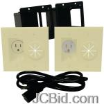 JCBid.com online auction Midlite-a2gesr-i-power-port-hdtv-power-solution-kit-ivory