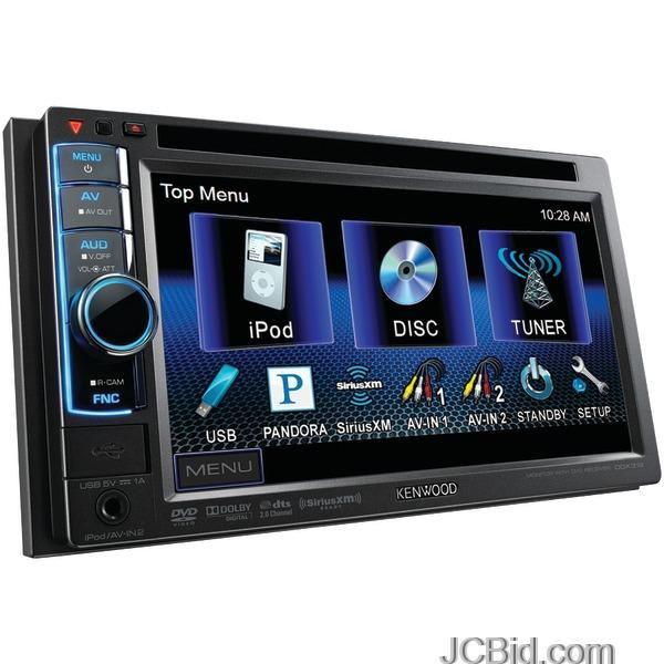 Kenwood double din receiver