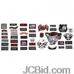 JCBid.com online auction 42pc-embroidered-patch-set
