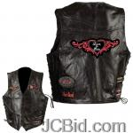 JCBid.com online auction Rock-leather-ladies-vest-m