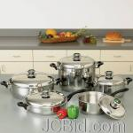 JCBid.com online auction 10pc-cookware-set
