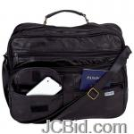 JCBid.com online auction Leather-travel-bag
