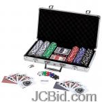 JCBid.com online auction 309pc-poker-set-w-alum-case