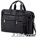 JCBid.com online auction Solid-leather-portfolio-bc