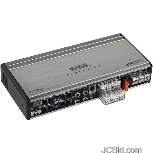 Car Audio Amplifiers: SSL EV0EVOLUTION 000-Watt 2