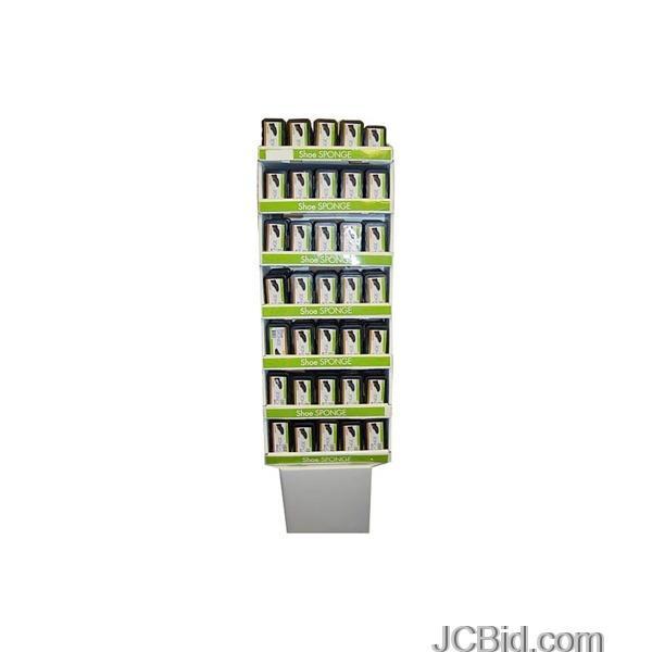 JCBid.com Shoe-Shine-Sponges-Floor-Display-display-Case-of-105-pieces