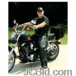 JCBid.com online auction Leather-motorcycle-chaps-m