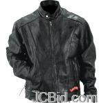 JCBid.com online auction Leather-motorcycle-jacket-xl