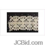 JCBid.com online auction 24-yards-of-beautiful-off-white-crochet-like-lace