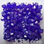 JCBid.com Austria-Crystal-bead-4-mm-25-pc-Purple