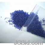 JCBid.com online auction 3000-approx-beads-royal-blue-seed-beads