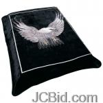 JCBid.com online auction Eagle-design-blanket