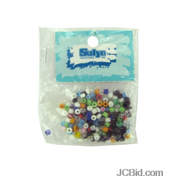 JCBid.com Small-Pony-Beads-display-Case-of-204-pieces
