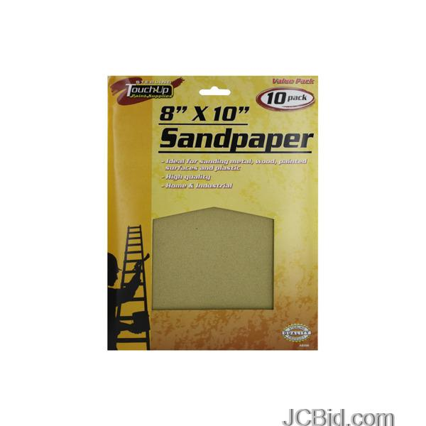 JCBid.com Multi-Purpose-Sandpaper-Set-Case-of-84-pieces