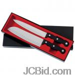 JCBid.com online auction 2pc-knife-set-wphenol-handles