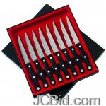 JCBid.com online auction 8pc-steak-knife-set