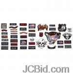 JCBid.com online auction 42pc-embroidered-patch-set