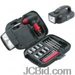 JCBid.com online auction 25pc-tool-set-wrcht-bit