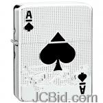 JCBid.com online auction Med-sz-lighter-w-ace-of-spades