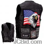 JCBid.com online auction Motorcycle-vest-wpatches-3x