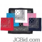 JCBid.com online auction Pasley-print-bandanas-6pc-set