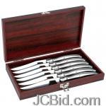JCBid.com online auction 6pc-european-style-steak-knife