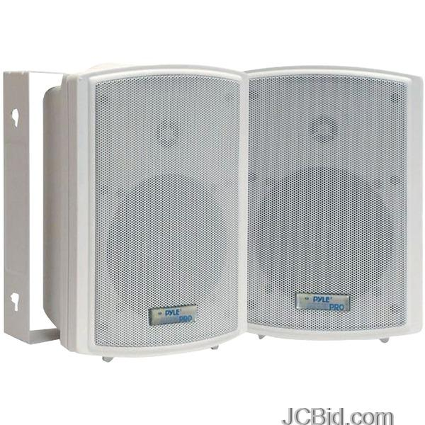 JCBid.com PYLE-PDWR63-INDOOROUTDOOR-WATERPROOF-ON-WALL-SPEAKERS-65