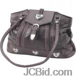 JCBid.com online auction Large-brown-leather-purse