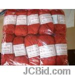 JCBid.com online auction Hand-knitting-crochet-yarn-50g-each-just-15-each-ball-red