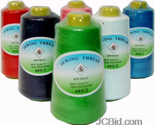 JCBid.com Sewing-Thread-Cones-2734-Yards-in-Each