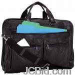 JCBid.com online auction Leather-briefcase