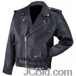 JCBid.com online auction Solid-gen-cowhide-jacket-3x